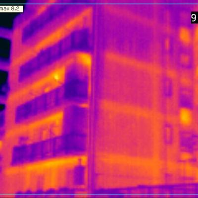 Esempio termografia palazzo